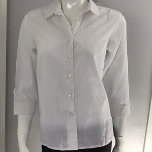 New! ASOS White button down shirt